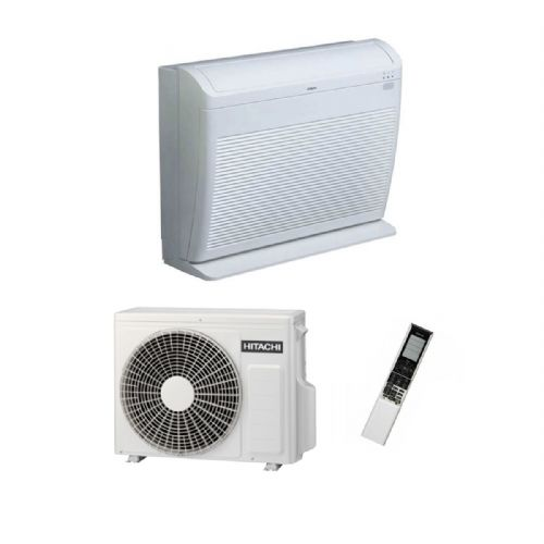 Hitachi Air Conditioning Floor Mounted RAF-25RPA Inverter Heat Pump 2.5Kw/9000Btu A+ 240V~50Hz